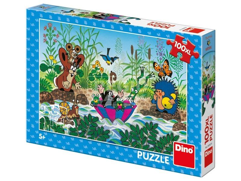 Puzzle 100 db XL - Kisvakond vitorlázik