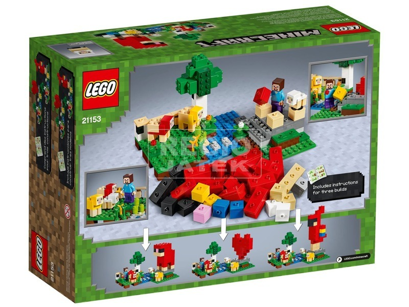 kép nagyítása LEGO® Minecraft gyapjúfarm 21153