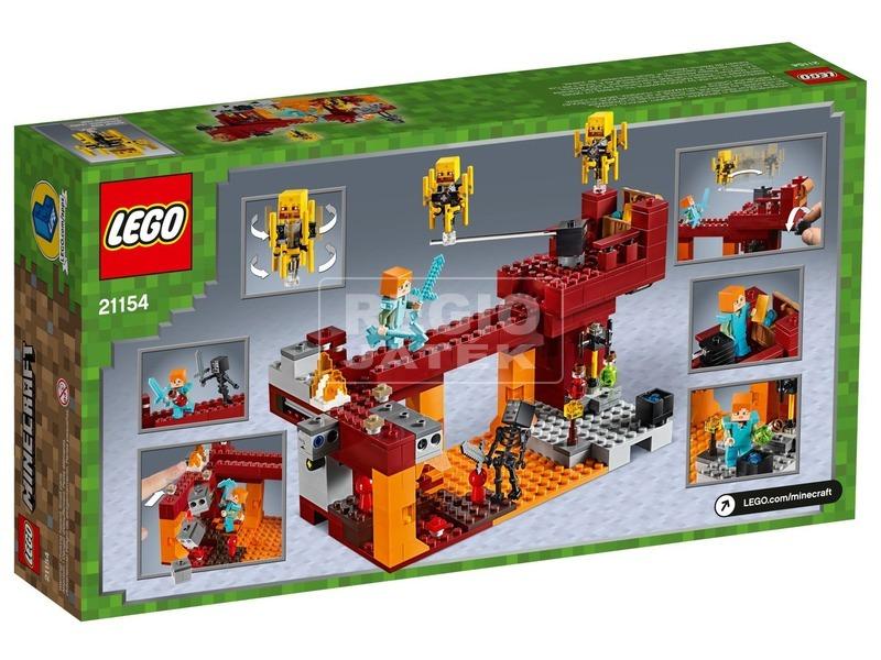 kép nagyítása LEGO® Minecraft Őrláng híd 21154