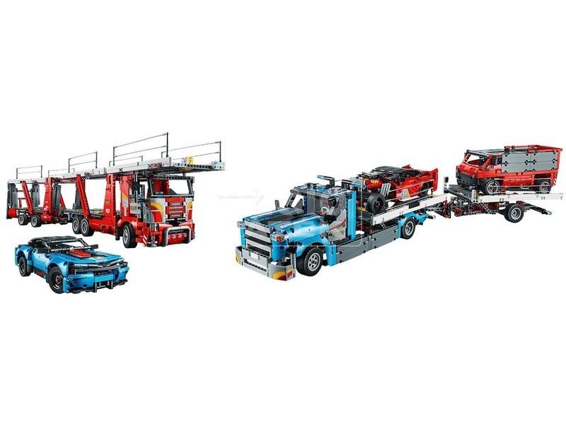 kép nagyítása LEGO® Technic autószállító 42098