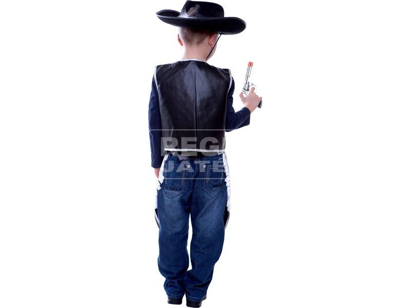 kép nagyítása Cowboy jelmez - fekete, 128-as méret