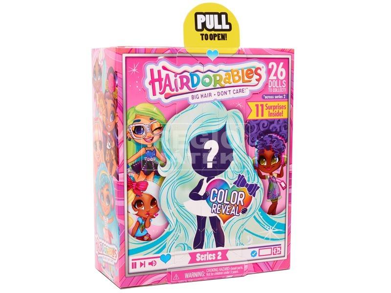 kép nagyítása Hairdorables S2 - meglepetés hajasbaba