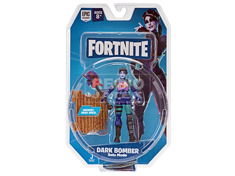Fortnite - Dark Bomber figura, 10 cm