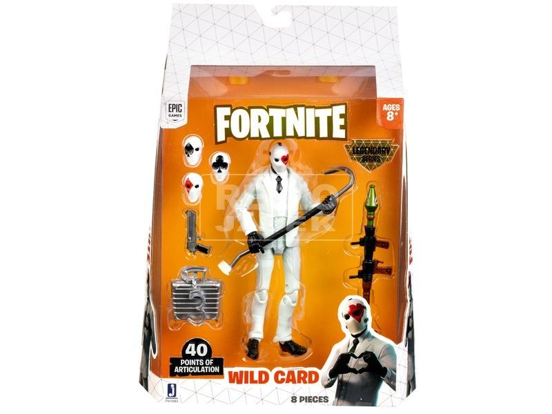 Fortnite - Wild Card figura, 15 cm