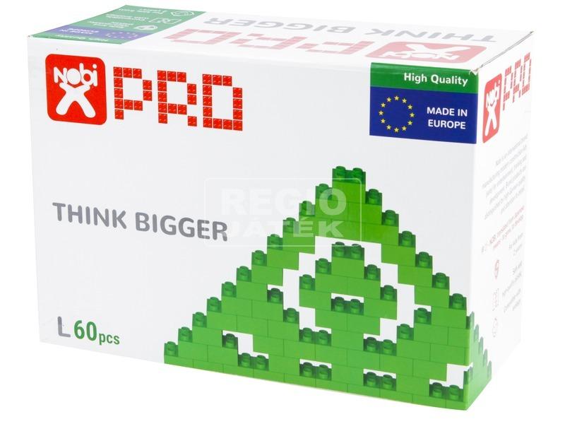 kép nagyítása Nobi Pro színes építőkocka 60db-os