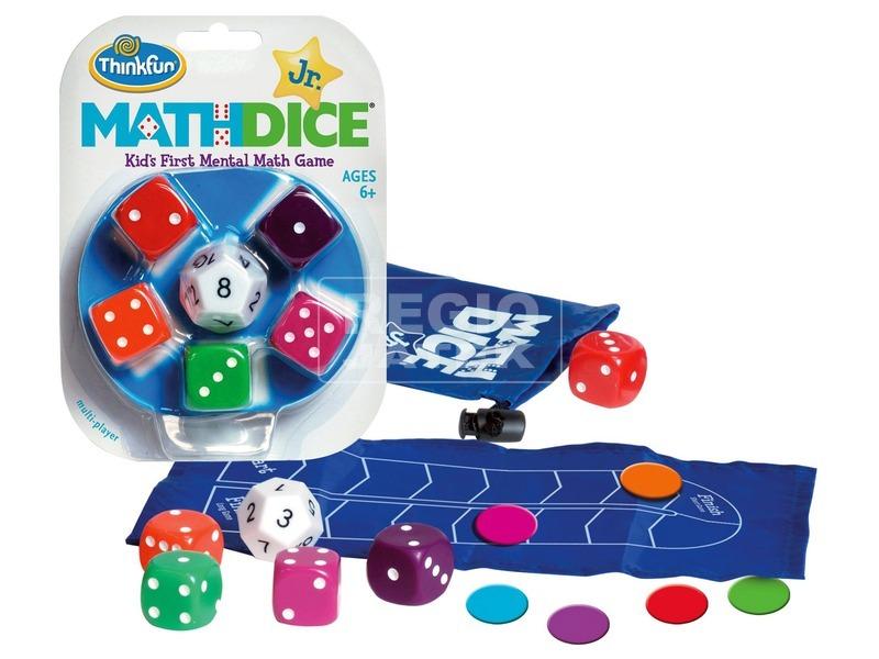 kép nagyítása Math Dice junior társasjáték