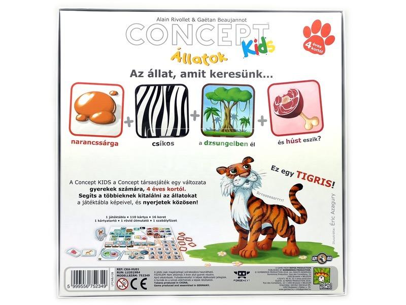 kép nagyítása Concept Kids: Állatok