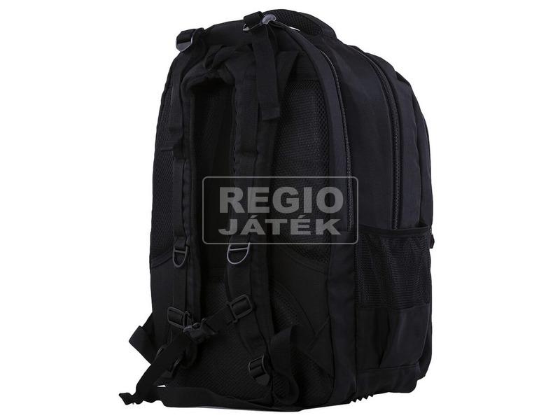 kép nagyítása Pixie - Simogatós fekete hátizsák, 69 pixellel