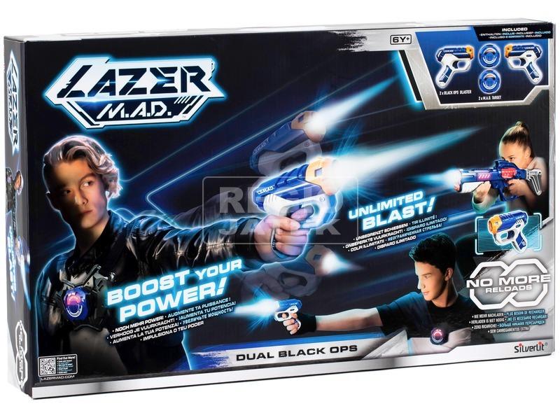 Silverlit LazerDual Black Ops sugárfegyver készlet