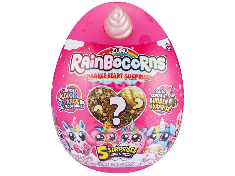 kép nagyítása Rainbocorns Sparkle Heart - meglepetés egyszarvú