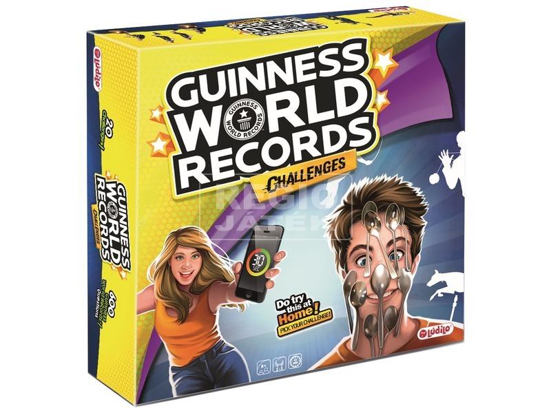 Guinnes World Records Challenges - társasjáték
