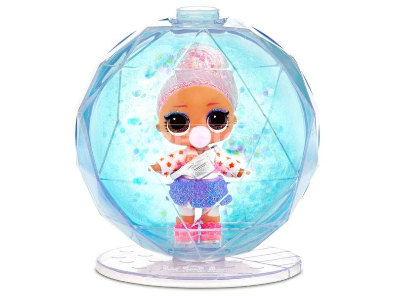 kép nagyítása L. O. L. Surprise Holiday Glitter- Meglepetés hógömb