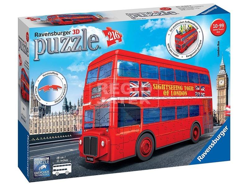 London busz 216 darabos 3D puzzle