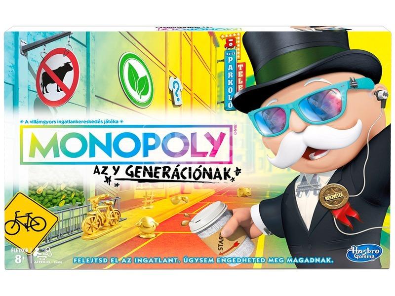 Monopoly társasjáték - Y-generáció kiadás