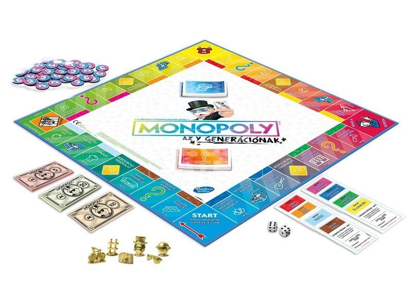 kép nagyítása Monopoly társasjáték - Y-generáció kiadás