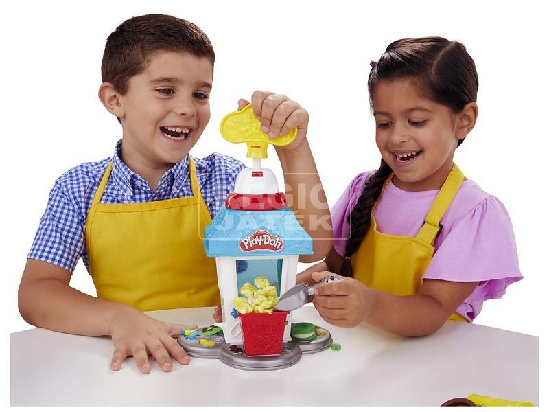 kép nagyítása Play Doh popcorn parti készlet