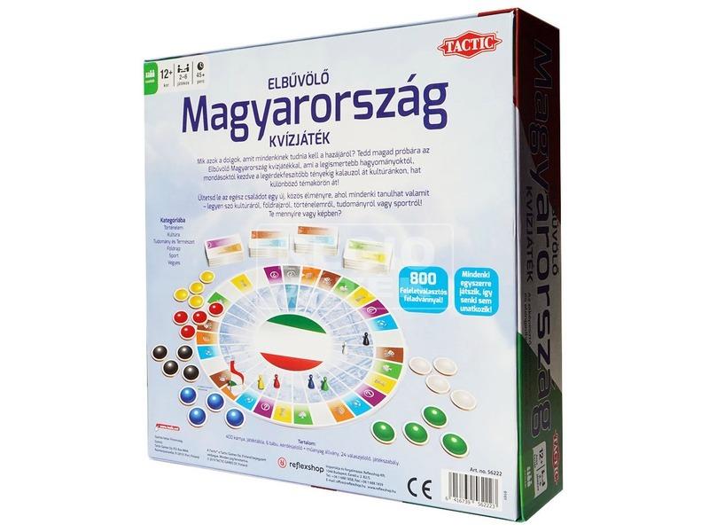 kép nagyítása Elbűvölő Magyarország kvízjáték
