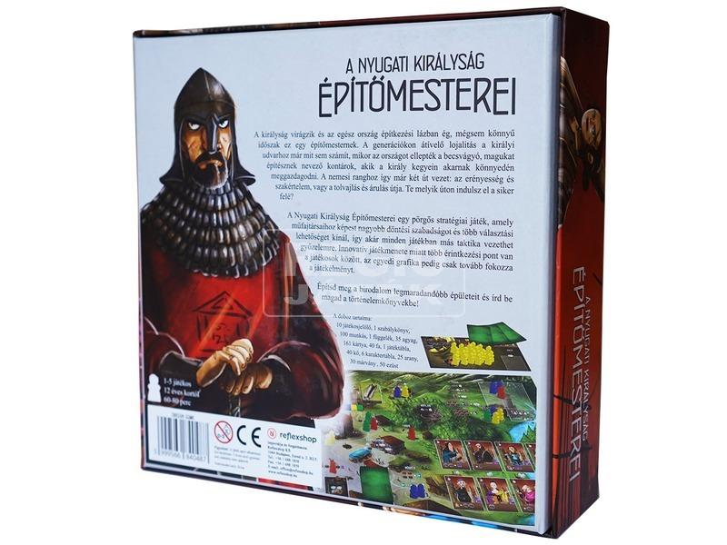 kép nagyítása A nyugati királyság építőmesterei társasjáték