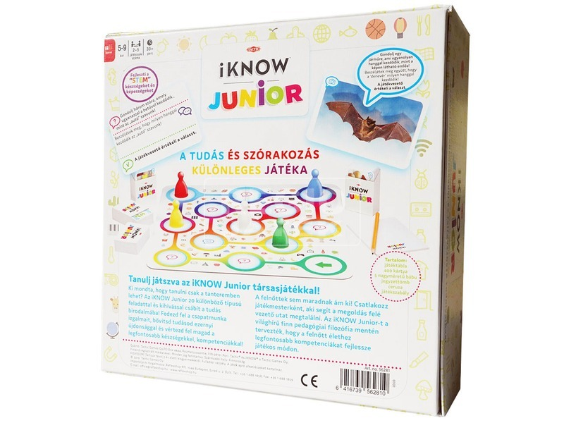 kép nagyítása iKnow Junior társasjáték