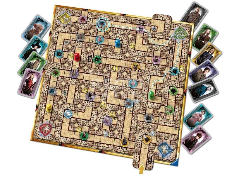 kép nagyítása Harry Potter Labirintus társasjáték