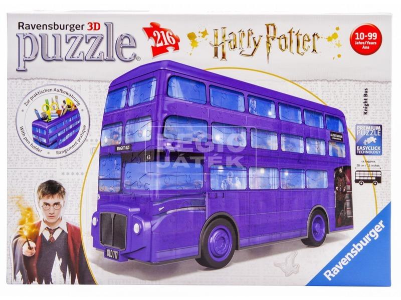 kép nagyítása 3D Puzzle - Harry Potter kóbor grimbusz, 216 darab