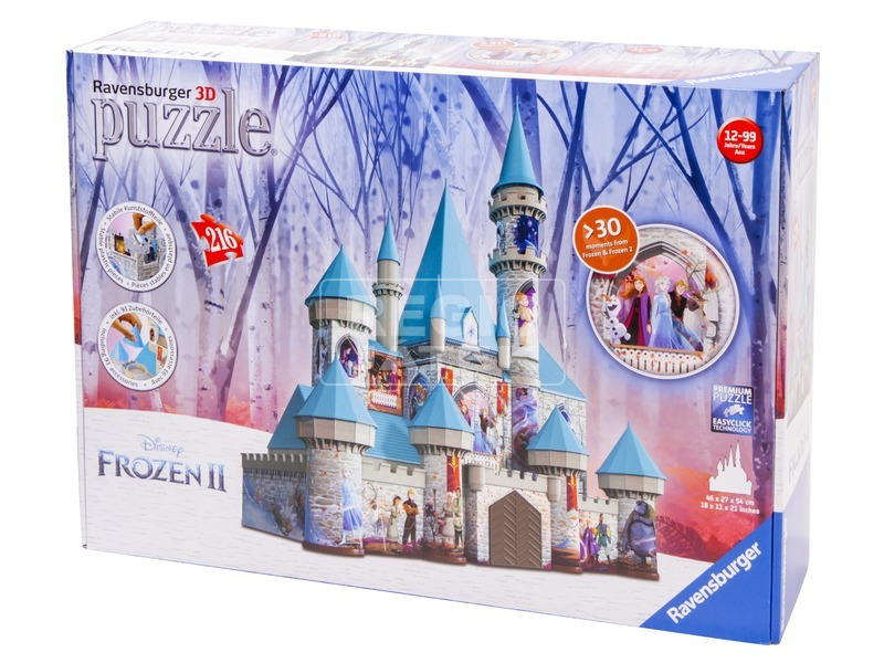 Puzzle 3D 216 - Jégvarázs 2 kastély