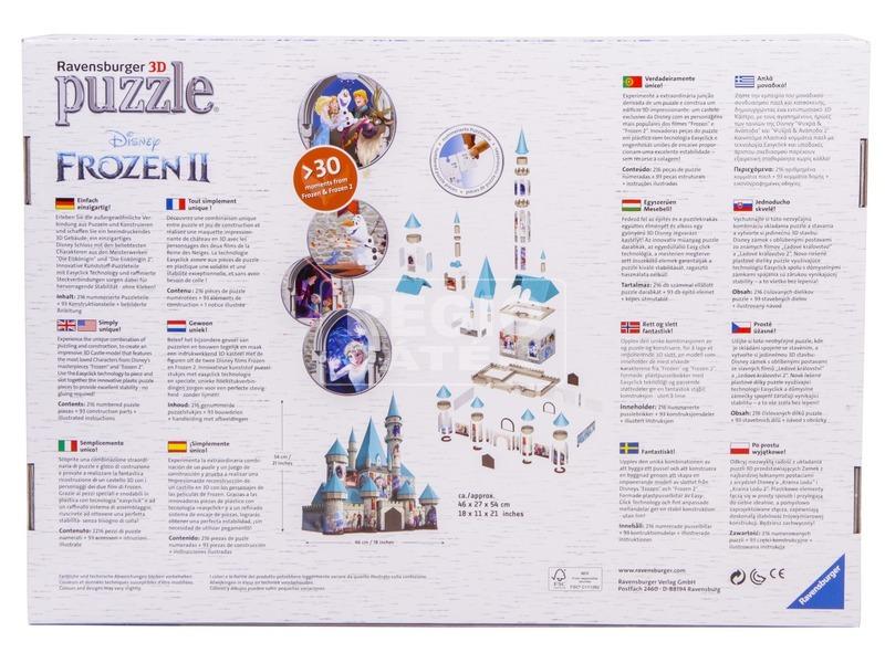 kép nagyítása Puzzle 3D 216 - Jégvarázs 2 kastély