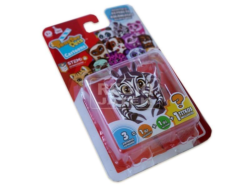 Toaster Pets :Kópé, a zebra gyűjthető figura