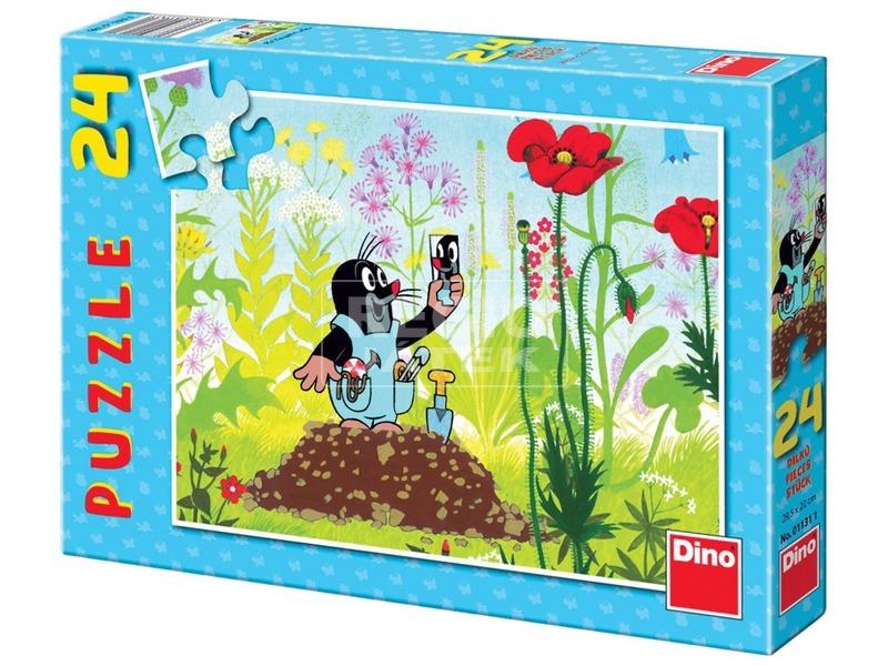 Kisvakond nadrágban 24 darabos puzzle