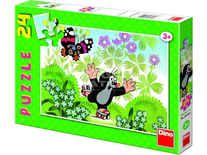 Kisvakond görkorizik 24 darabos puzzle