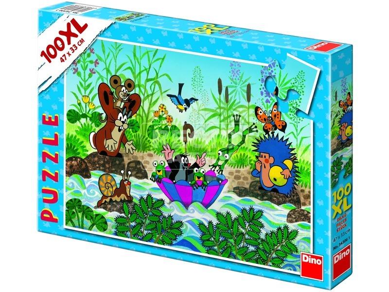 Kisvakond csónakázik 100 darabos XL puzzle