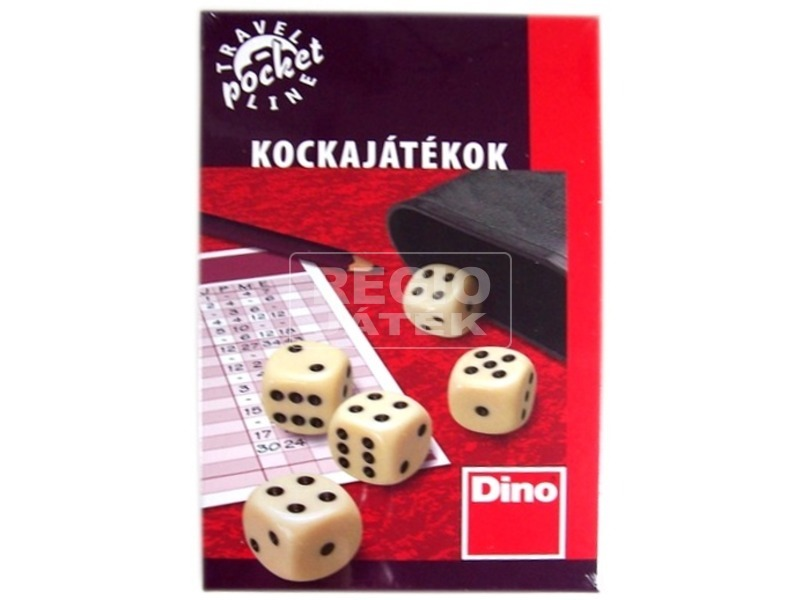 Kockajátékok úti társasjáték