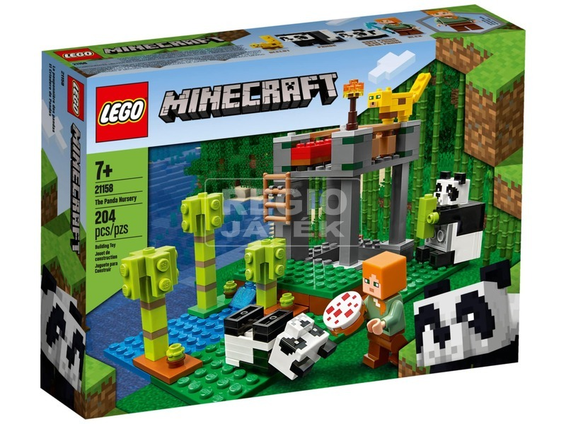 LEGO® Minecraft™ A pandabölcsőde 21158