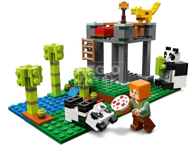 kép nagyítása LEGO® Minecraft™ A pandabölcsőde 21158