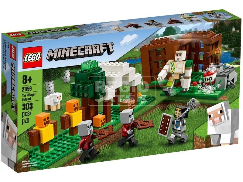LEGO® Minecraft A Fosztogató őrtorony 21159