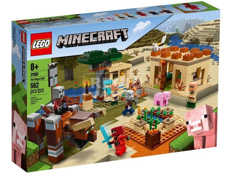 LEGO® Minecraft™ A fosztogató rajtaütés 21160
