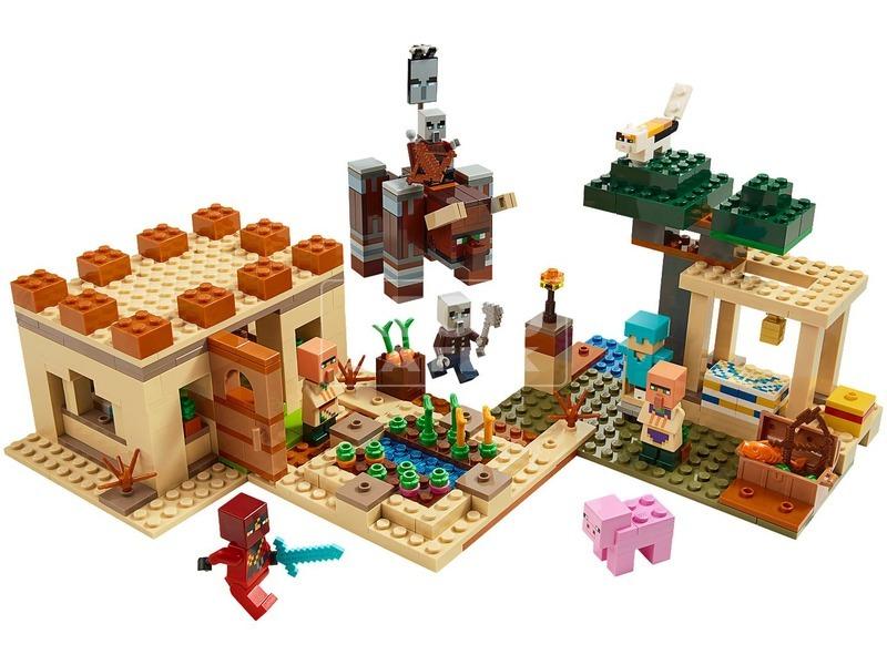 kép nagyítása LEGO® Minecraft™ A fosztogató rajtaütés 21160