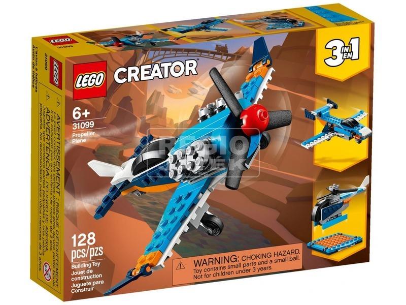 LEGO® Creator Légcsavaros repülőgép 31099