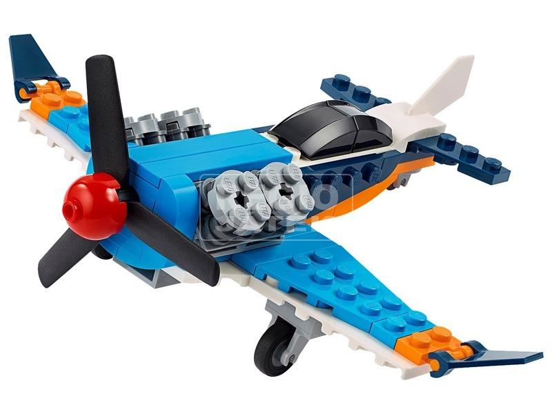kép nagyítása LEGO® Creator Légcsavaros repülőgép 31099