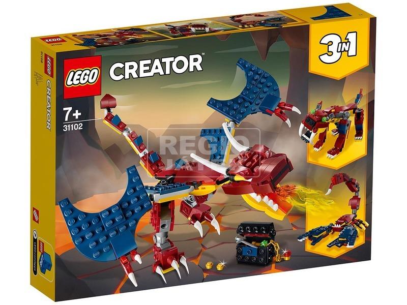 LEGO® Creator Tűzsárkány 31102