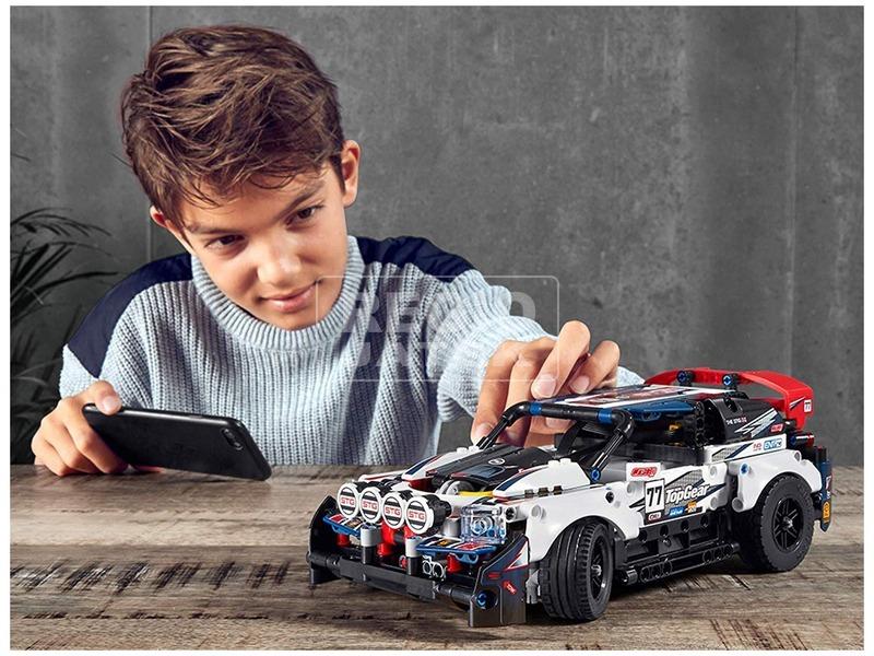 kép nagyítása LEGO Technic 42109 Applikációval irányítható Top Gear raliautó