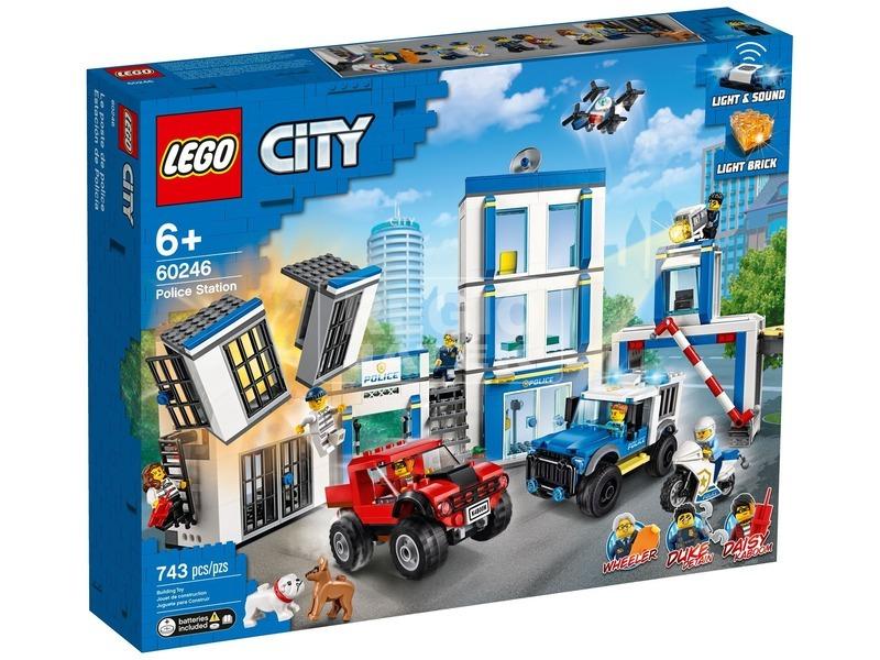LEGO® City Police Rendőrkapitányság 60246