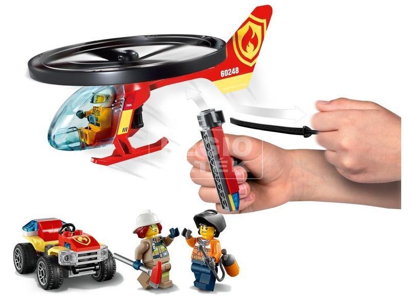 kép nagyítása LEGO® City Fire Sürgősségi tűzoltó helikopter 60248