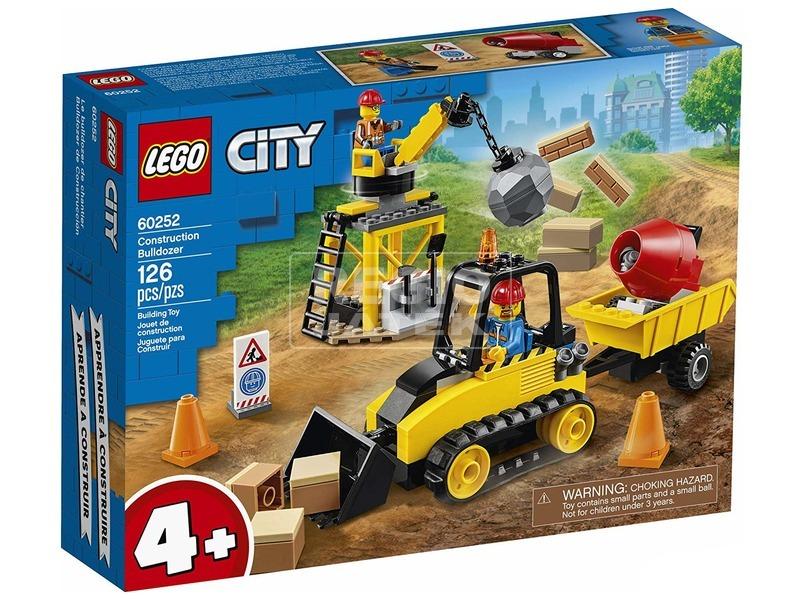 LEGO® City Great Vehicles Építőipari buldózer 60252