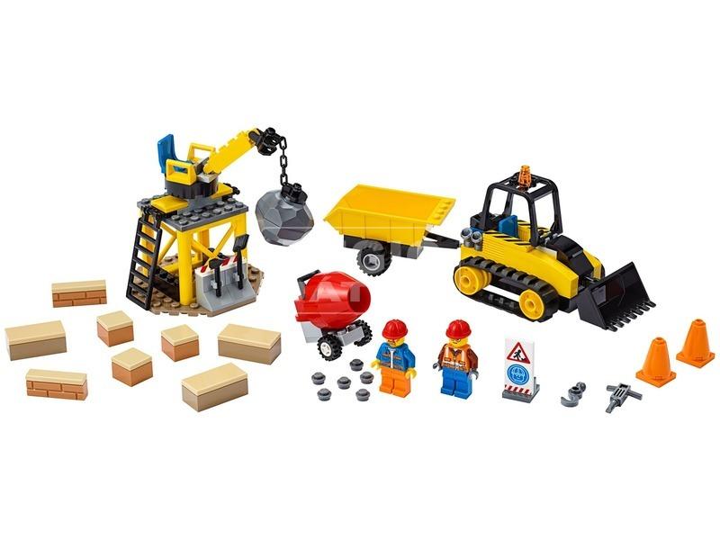 kép nagyítása LEGO® City Great Vehicles Építőipari buldózer 60252