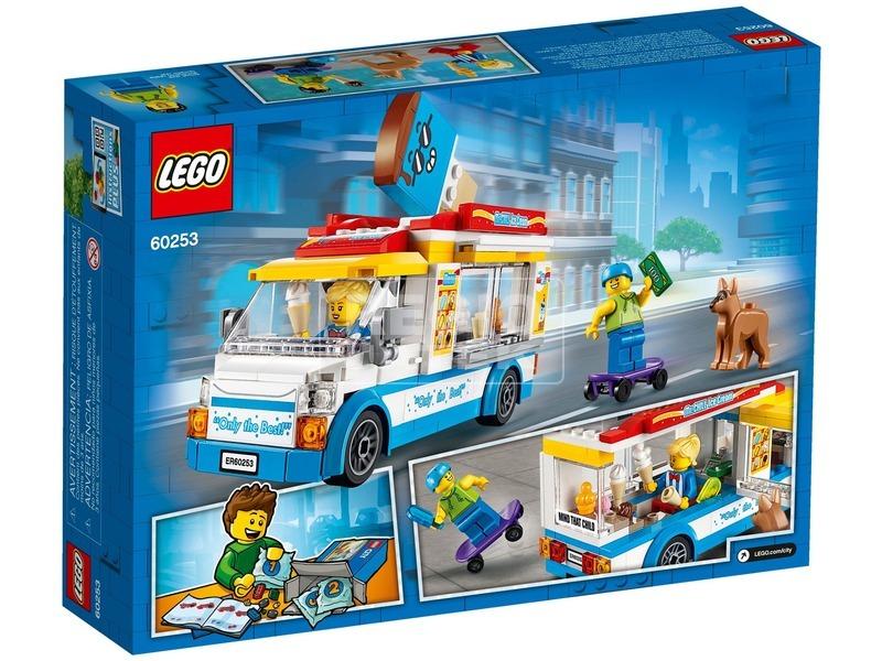 kép nagyítása LEGO® City Great Vehicles Fagylaltos kocsi 60253