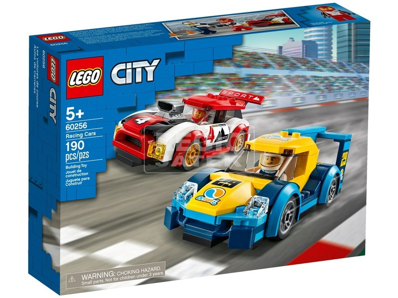 LEGO® City Nitro Wheels Versenyautók 60256