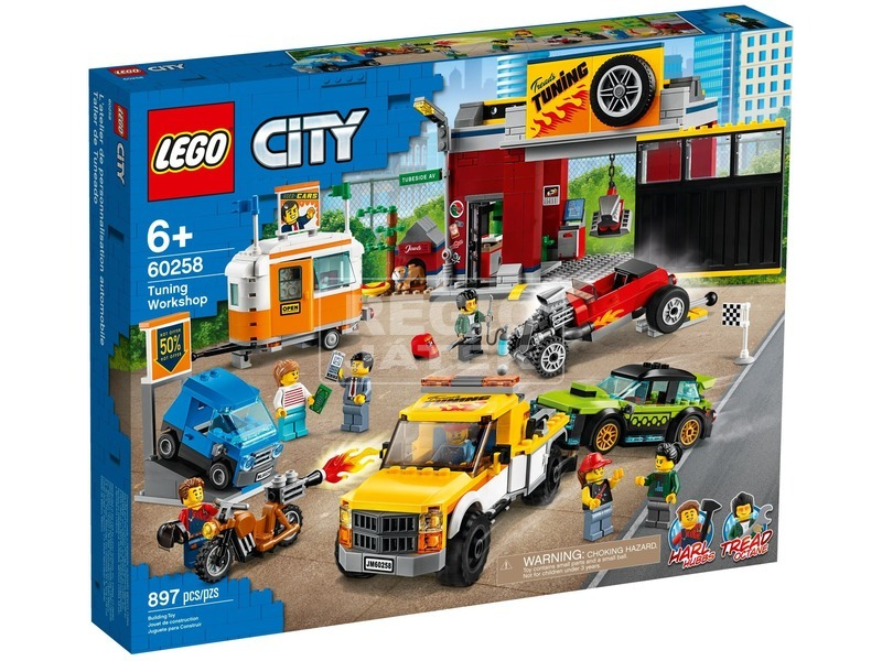 LEGO City Nitro Wheels 60258 Szerelőműhely
