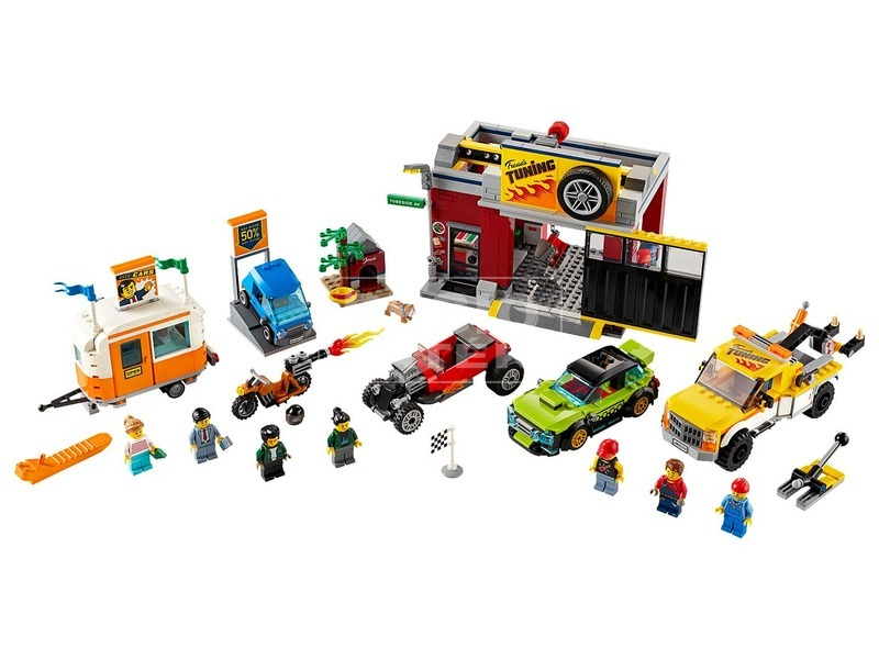 kép nagyítása LEGO City Nitro Wheels 60258 Szerelőműhely