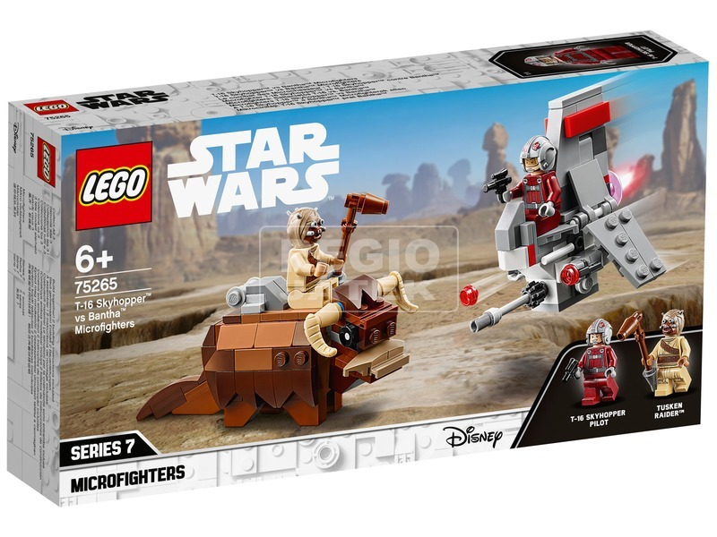 LEGO® Star Wars™ A T-16 Skyhopper™ a Buckalakó™ ellen Microfighter 75265